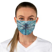 Load image into Gallery viewer, Dragonfly Fabric Face Mask-face mask-fercaggiano