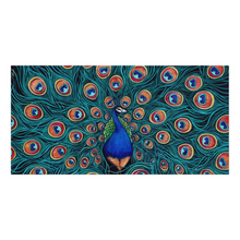 Load image into Gallery viewer, Peacock Canvas Print-canvas print-fercaggiano