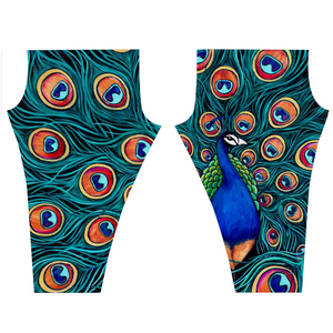 Peacock Leggings-leggings-fercaggiano