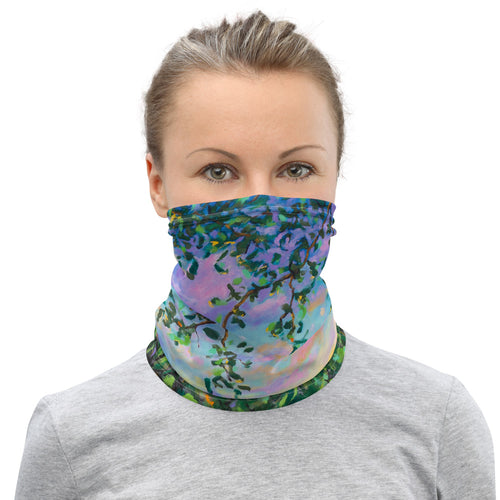 Rainbow Row Neck Gaiter-Gaiter | Sports Sleeve-fercaggiano