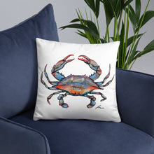 Load image into Gallery viewer, Blue Crab Pillows-pillows-fercaggiano