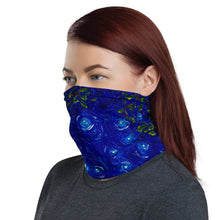 Load image into Gallery viewer, Rainbow Row at Night Neck Gaiter-Gaiter | Sports Sleeve-fercaggiano