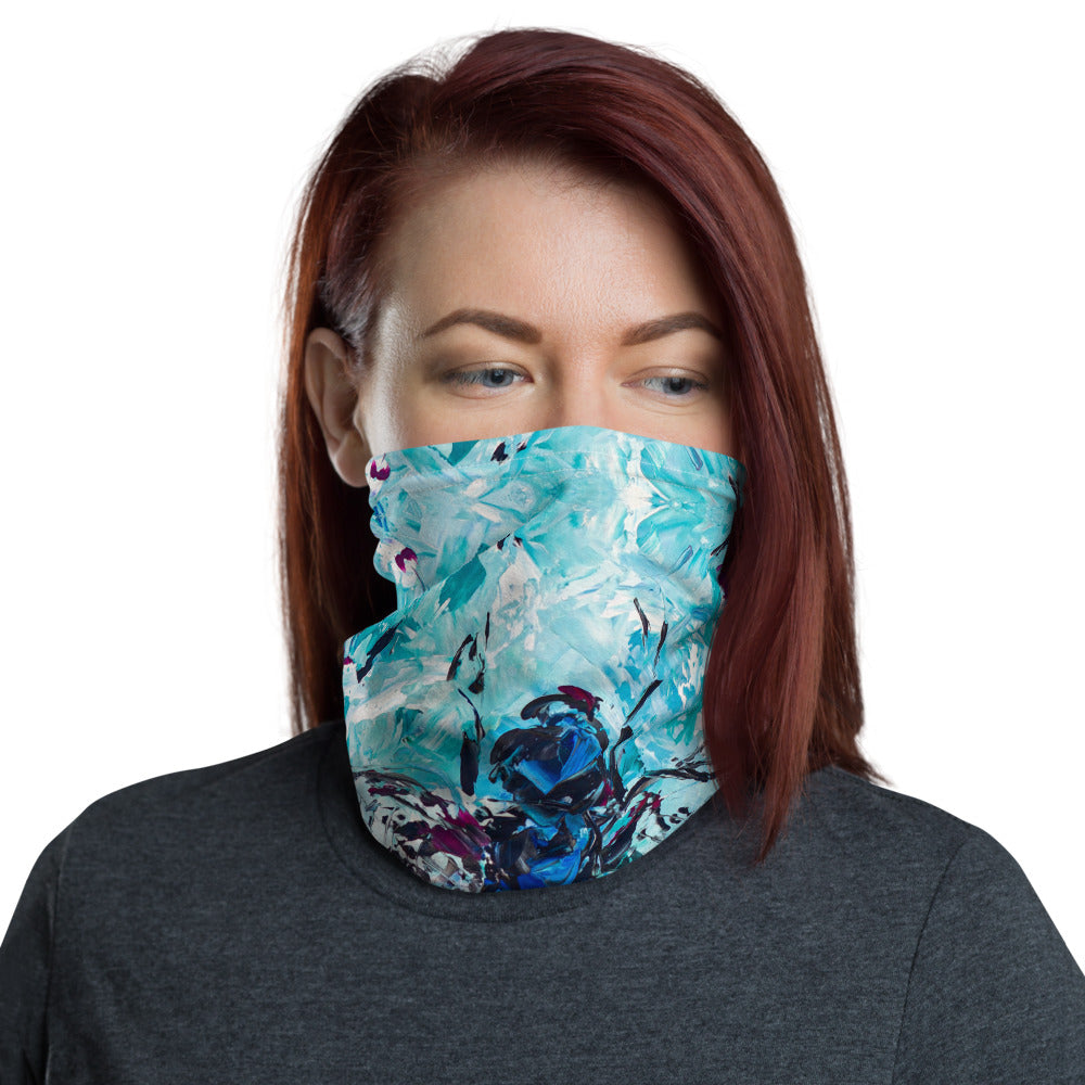 Dragonfly Neck Gaiter-Gaiter | Sports Sleeve-fercaggiano