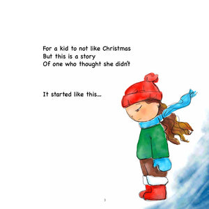 The Girl Who Didn't Like Christmas-book-fercaggiano