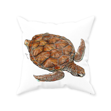 "Load image into Gallery viewer, Turtle Throw Pillows 20x20""-pillows-fercaggiano"
