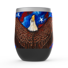 Load image into Gallery viewer, American Eagle Stemless Wine Tumblers-tumbler-fercaggiano