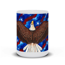 Load image into Gallery viewer, American Eagle White Mugs-mug-fercaggiano