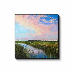 Mind At Ease Canvas Wraps Print-Canvas-fercaggiano