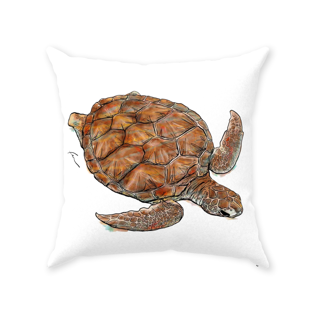 Turtle Throw Pillows 20x20