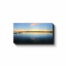 Load image into Gallery viewer, Great Start | Sunrise At The Dock-canvas print-fercaggiano