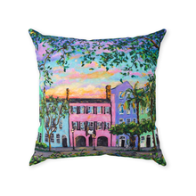 Load image into Gallery viewer, Rainbow Row Throw Pillows-pillows-fercaggiano