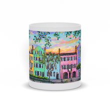 Load image into Gallery viewer, Rainbow Row Charleston Sc Art Print Mug-mug-fercaggiano