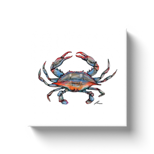 Blue Crab Canvas Wraps-canvas print-fercaggiano