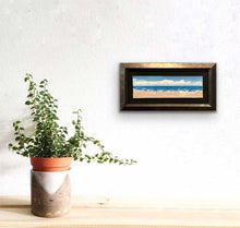"Load image into Gallery viewer, Sand And Sky | Original Oil | 9x3""-original art-fercaggiano"