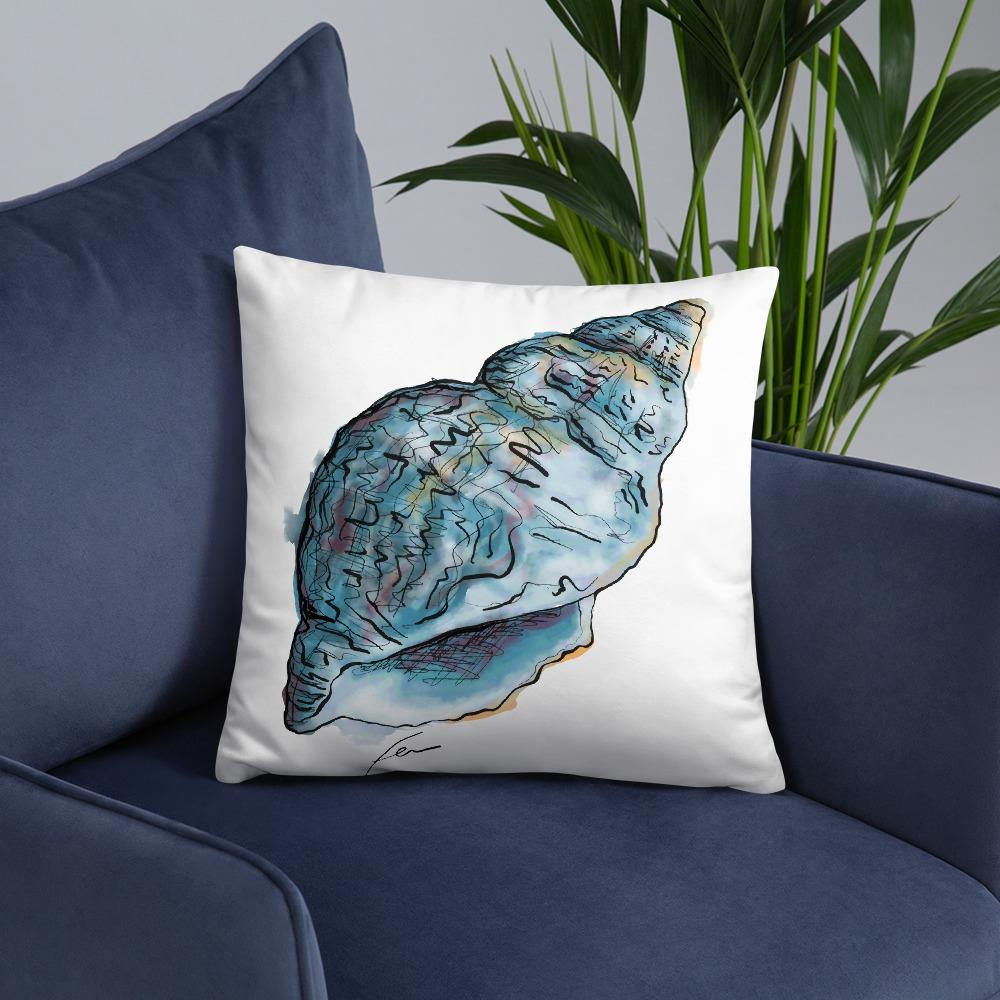 Seashell Outdoor Pillows-pillows-fercaggiano