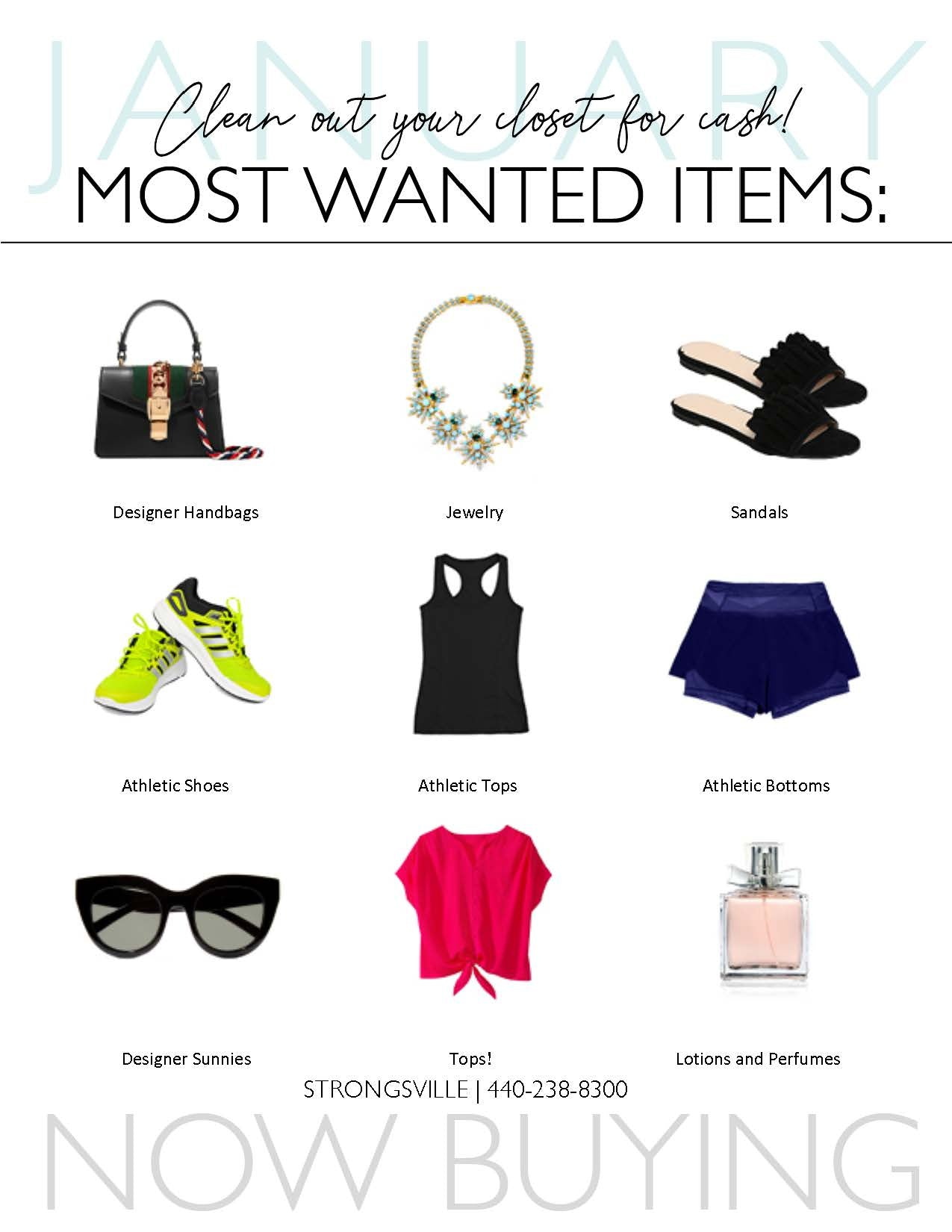 Clothes Mentor Strongsville January most wanted