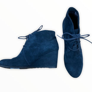 Primary Photo - BRAND: CLARKS STYLE: BOOTS ANKLE COLOR: BLUE SIZE: 7.5 SKU: 190-190125-36342