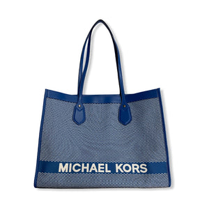 Primary Photo - BRAND: MICHAEL KORS STYLE: HANDBAG DESIGNER COLOR: BLUE SIZE: LARGE SKU: 190-190106-52889