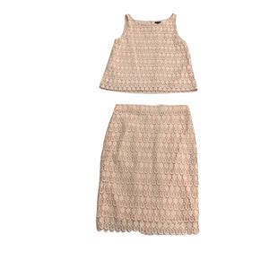 Primary Photo - BRAND: ANN TAYLOR STYLE: DRESS SET 2PC COLOR: PEACH SIZE: M OTHER INFO: NEW! SKU: 190-190140-23703
