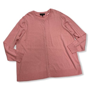 Primary Photo - BRAND: LANE BRYANT STYLE: SWEATER CARDIGAN LIGHTWEIGHT COLOR: PINK SIZE: 2X SKU: 190-190106-50517