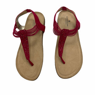 Primary Photo - BRAND: BANDOLINO STYLE: FLIP FLOPS COLOR: PINK SIZE: 8 SKU: 190-19060-47064