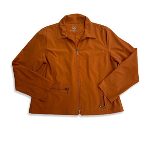 Primary Photo - BRAND: ZENERGY BY CHICOS STYLE: JACKET OUTDOOR COLOR: ORANGE SIZE: L SKU: 190-190106-49106