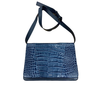 Primary Photo - BRAND: VINCE STYLE: HANDBAG LEATHER COLOR: BLUE SIZE: SMALL SKU: 190-190106-53107