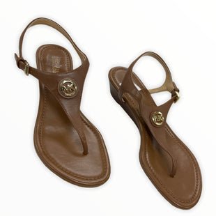 Primary Photo - BRAND: MICHAEL BY MICHAEL KORS STYLE: SANDALS LOW COLOR: BLACK SIZE: 6 SKU: 190-190160-221