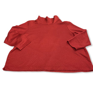 Primary Photo - BRAND: COLDWATER CREEK STYLE: TOP LONG SLEEVE COLOR: RED SIZE: 3X SKU: 190-190125-34888