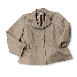 Primary Photo - BRAND: CHICOS STYLE: JACKET OUTDOOR COLOR: BROWN SIZE: L SKU: 190-190106-52234