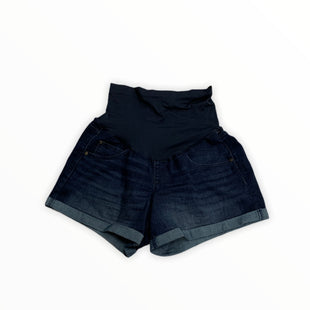 Primary Photo - BRAND: A GLOW STYLE: MATERNITY SHORTS COLOR: DENIM BLUE SIZE: L SKU: 190-190140-22665