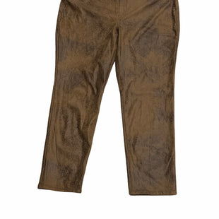 Primary Photo - BRAND: CHICOS STYLE: PANTS COLOR: BROWN SIZE: 16 OTHER INFO: NEW! SKU: 190-190106-56504
