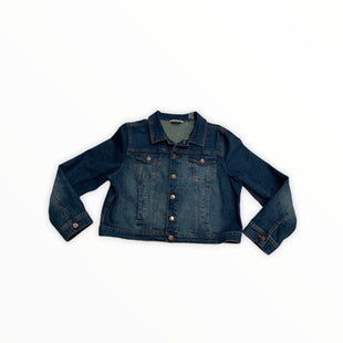 Primary Photo - BRAND: SOFT SURROUNDINGS STYLE: JACKET OUTDOOR COLOR: DENIM BLUE SIZE: L SKU: 190-190140-22639