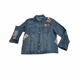 Primary Photo - BRAND: CHICOS STYLE: JACKET OUTDOOR COLOR: DENIM BLUE SIZE: XL SKU: 190-190140-25377