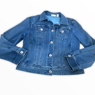 Primary Photo - BRAND: CHICOS STYLE: JACKET OUTDOOR COLOR: DENIM SIZE: M SKU: 190-190106-56081