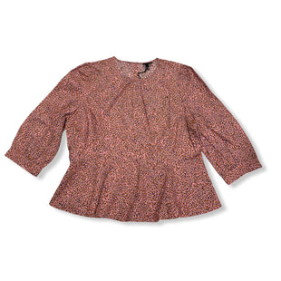 Primary Photo - BRAND: WHO WHAT WEAR STYLE: TOP LONG SLEEVE COLOR: PINK SIZE: 1X OTHER INFO: NEW! SKU: 190-19060-46050
