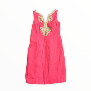 Primary Photo - BRAND: LILLY PULITZER STYLE: DRESS SHORT SLEEVELESS COLOR: SALMON SIZE: S SKU: 190-190106-54983