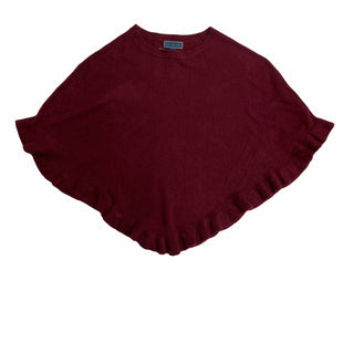 Primary Photo - BRAND: KAREN SCOTT STYLE: SHAWL COLOR: BURGUNDY OTHER INFO: S/M SKU: 190-19060-46696