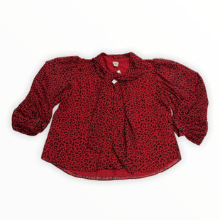 Primary Photo - BRAND: CHICOS STYLE: SWEATER CARDIGAN LIGHTWEIGHT COLOR: RED SIZE: 1X OTHER INFO: NEW! SKU: 190-190125-40052