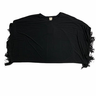 Primary Photo - BRAND: CHICOS STYLE: SHAWL COLOR: BLACK OTHER INFO: S/M   -   NEW! SKU: 190-19060-46628