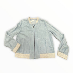 Primary Photo - BRAND: LOU AND GREY BY LOFT STYLE: JACKET OUTDOOR COLOR: BLUE SIZE: M OTHER INFO: NEW! SKU: 190-190106-54955