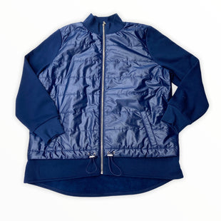 Primary Photo - BRAND: CHICOS STYLE: JACKET OUTDOOR COLOR: NAVY SIZE: L OTHER INFO: NEW! SKU: 190-190125-37365