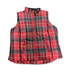 Primary Photo - BRAND: CHAPS STYLE: VEST COLOR: PLAID SIZE: 1X SKU: 190-190140-18214