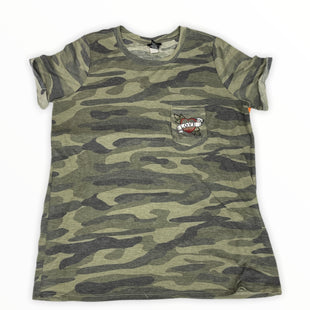 Primary Photo - BRAND: TORRID STYLE: TOP SHORT SLEEVE COLOR: CAMOFLAUGE SIZE: 1X SKU: 190-190140-22802