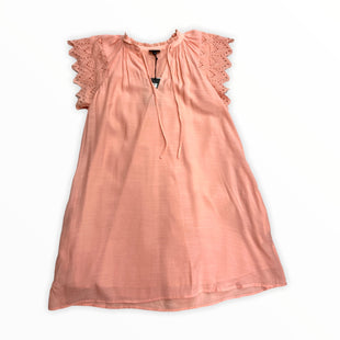 Primary Photo - BRAND: WHO WHAT WEAR STYLE: DRESS SHORT SHORT SLEEVE COLOR: SALMON SIZE: S OTHER INFO: NEW! SKU: 190-190106-50772
