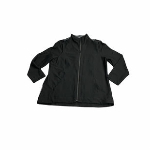 Primary Photo - BRAND: CHICOS STYLE: JACKET OUTDOOR COLOR: BLACK SIZE: XL OTHER INFO: NEW! SKU: 190-190125-40553.