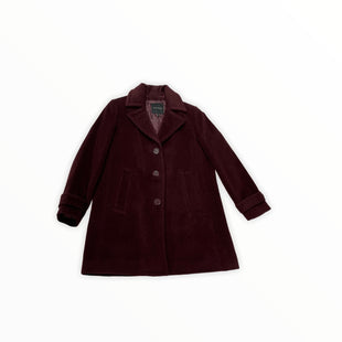 Primary Photo - BRAND: TALBOTS STYLE: COAT WOOL COLOR: PLUM SIZE: M SKU: 190-190140-21007
