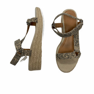 Primary Photo - BRAND: UNIVERSAL THREAD STYLE: SANDALS LOW COLOR: ANIMAL PRINT SIZE: 9 OTHER INFO: NEW! SKU: 190-190140-22314