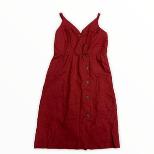 Primary Photo - BRAND: MAURICES STYLE: DRESS SHORT SLEEVELESS COLOR: RED SIZE: L SKU: 190-190106-57158