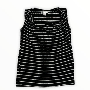 Primary Photo - BRAND: MOTHERHOOD STYLE: MATERNITY TANK COLOR: BLACK WHITE SIZE: M SKU: 190-190106-53742